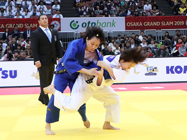 女子57kg級 玉置桃 vs C.LIEN