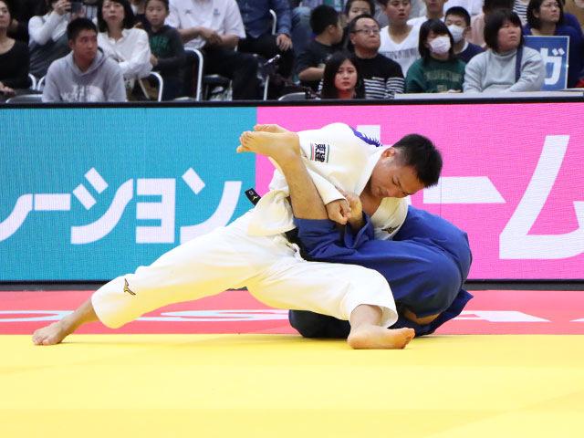 男子73kg級 海老沼匡 vs 原田健士