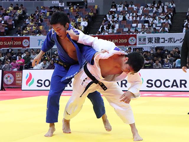 男子81kg級 永瀬貴規 vs 藤原崇太郎