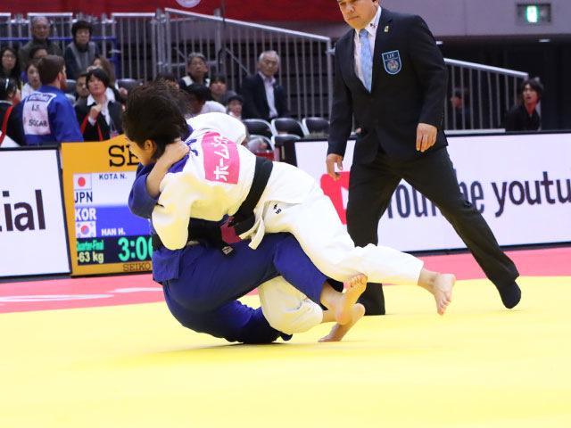 準々決勝戦 幸田奈々 vs H.HAN