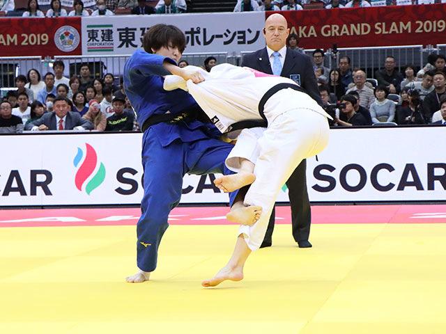 女子63kg級 田代未来 vs H.HAN