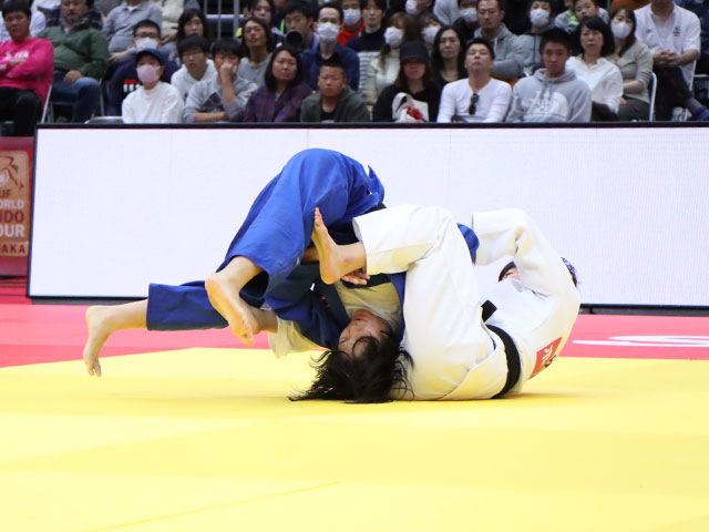女子63kg級 土井雅子 vs 幸田奈々