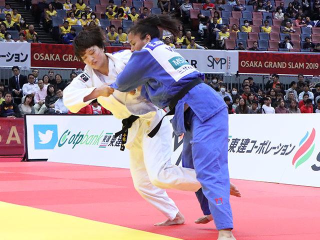 3位決定戦 新井千鶴 vs E.RODRIGUEZ