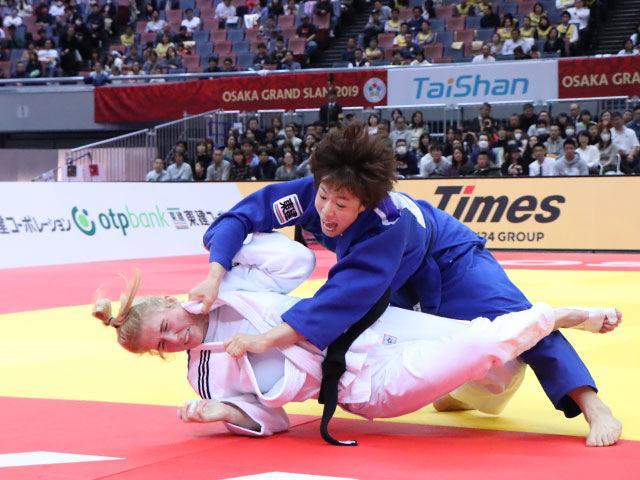 女子70kg級 大野陽子 vs K.POLLING