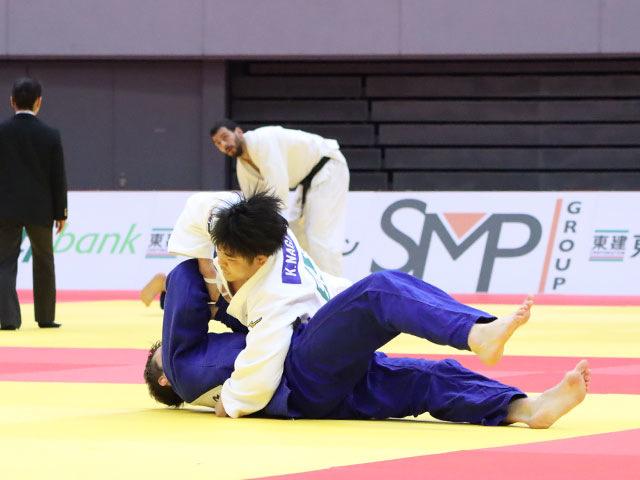 男子90kg級 長澤憲大 vs A.KUKOLJ