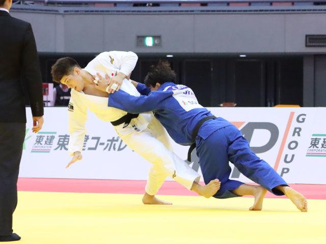 男子90kg級 向翔一郎 vs 村尾三四郎