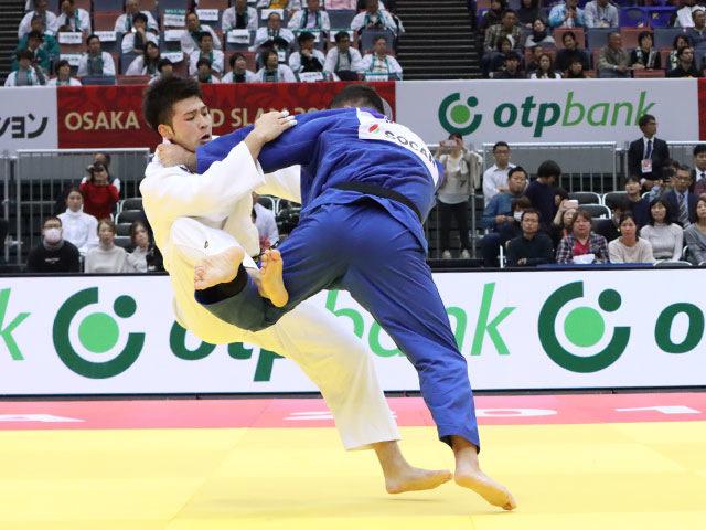 男子100kg級 飯田健太郎 vs ウルフアロン