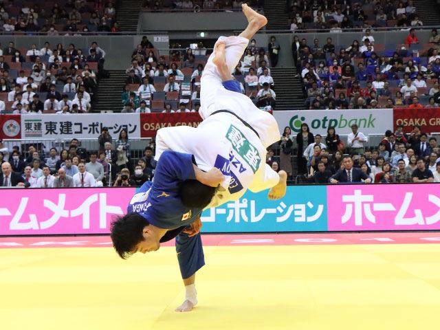 男子100kg級 羽賀龍之介 vs E.GASIMOV