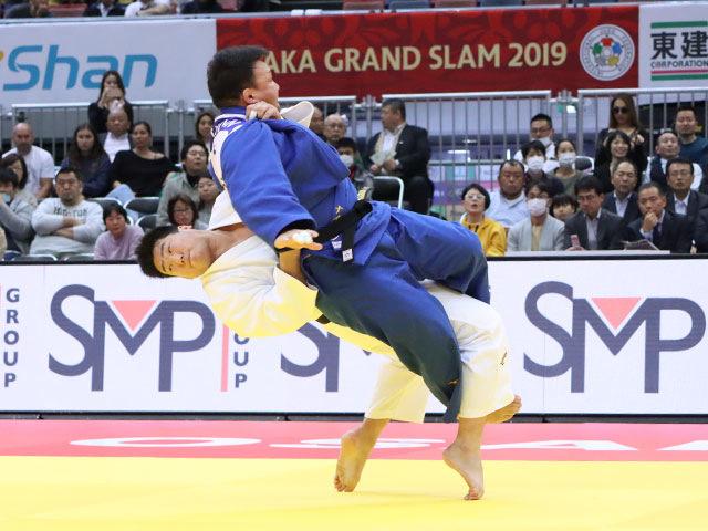 男子100kg超級 影浦心 vs T.NAIDAN