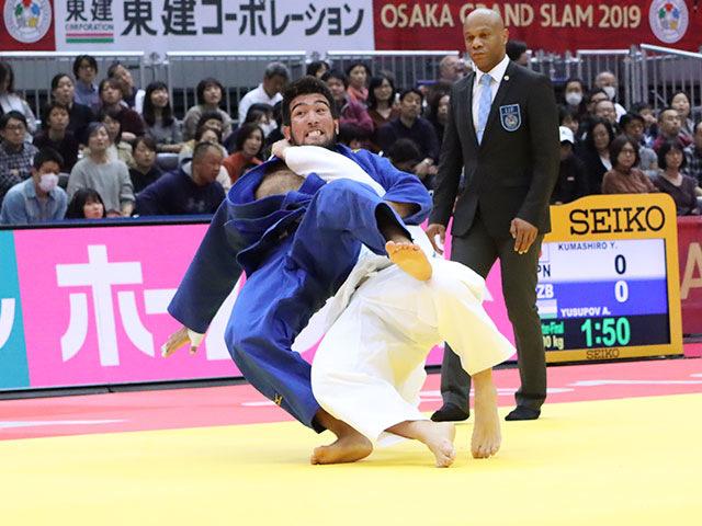 準々決勝戦 熊代佑輔 vs A.YUSUPOV