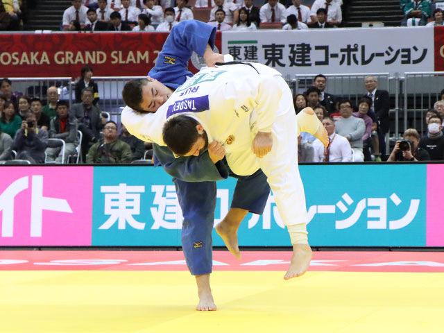 男子100kg超級 影浦心 vs L.KRPALEK