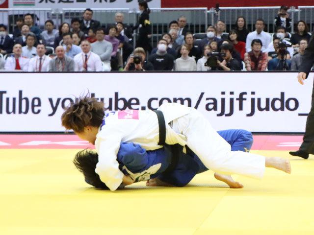女子78kg級 梅木真美 vs �M田尚里