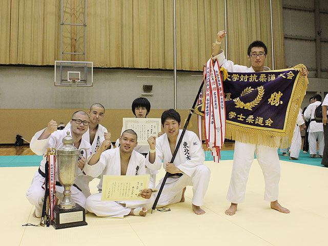 男子優勝:東北大学�C