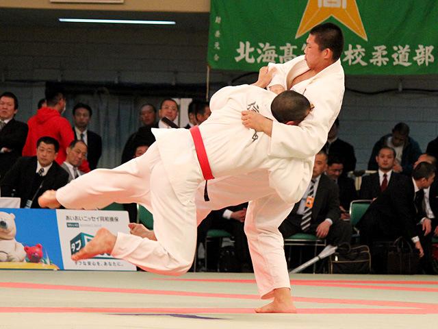男子90kg級四回戦 川田修平 vs 信岡弘太