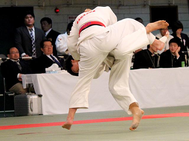 女子57kg級準決勝 柴田理帆 vs 林美七海