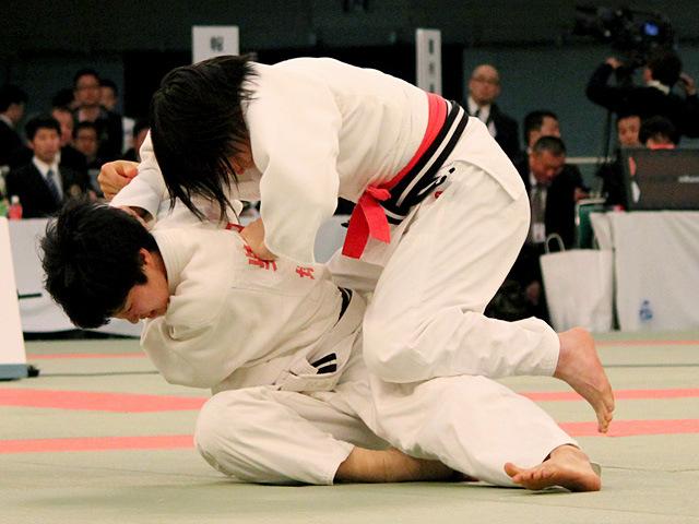女子57kg級決勝 西尾直子 vs 柴田理帆�@