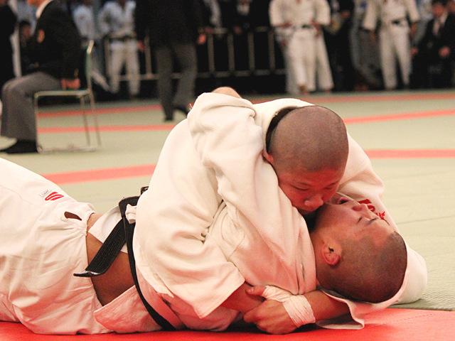 男子90kg級1回戦_赤坂皐vs畠山悠斗