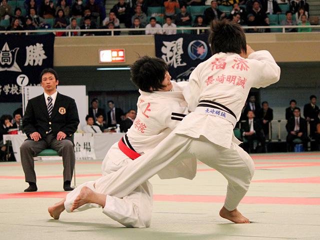 女子52kg級準決勝_坂上綾vs福添みのり�A