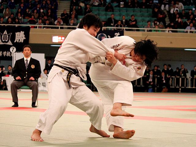 女子57kg級準決_谷川美歩vs林美七海