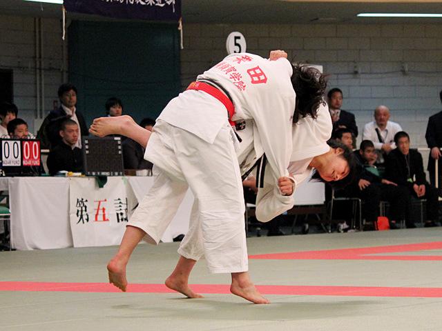 女子57kg級準決_舟久保遥香vs栗田ひなの