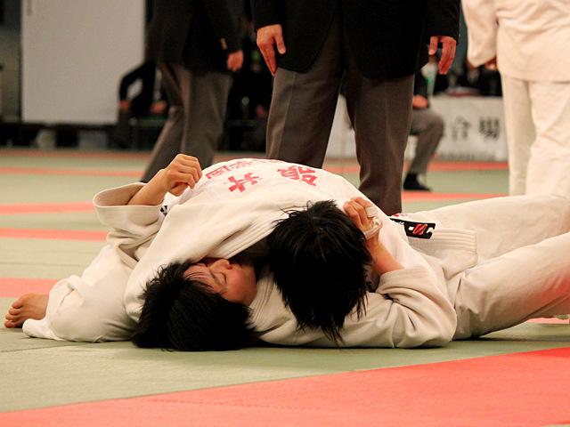 女子63kg級準決勝_嶺井美穂vs田中志歩�A