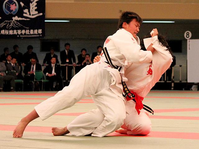 女子70kg級準決勝_青柳麗美vs吉本朝香�@