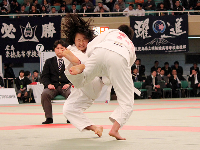 女子70kg級準決勝_青柳麗美vs吉本朝香�A
