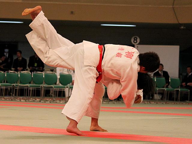 女子70kg級決勝_青柳麗美vs中江美裕�@