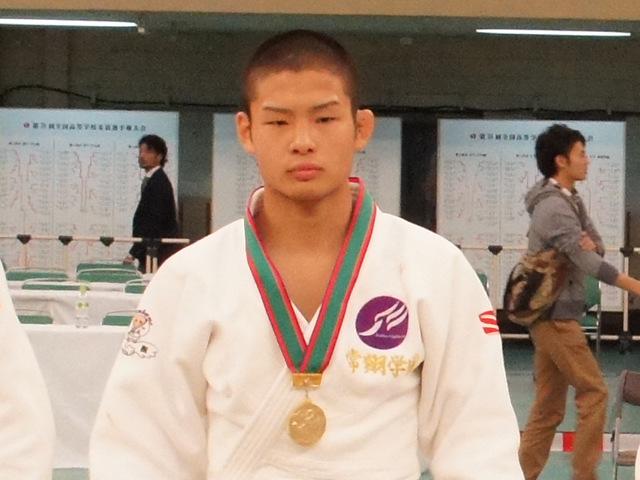 男子66kg級優勝 西村優太