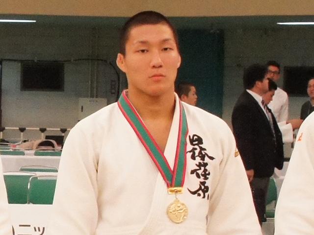 男子81kg級優勝 藤原崇太郎