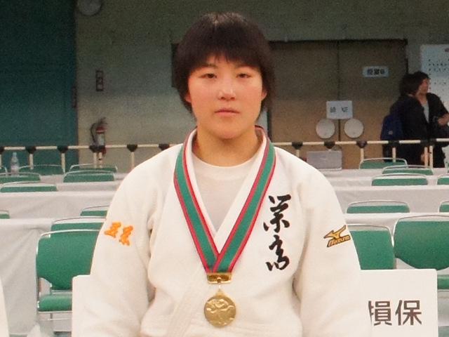 女子52kg級優勝 富沢佳奈