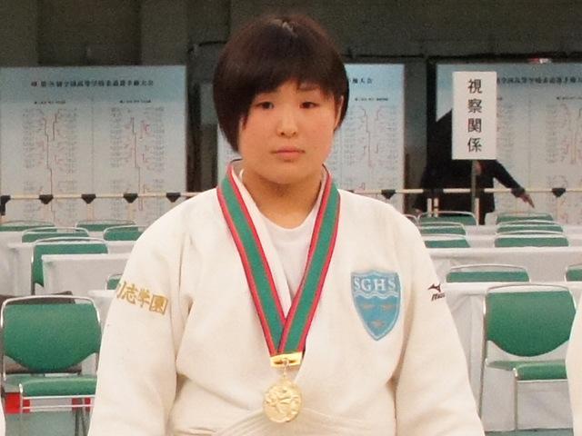 女子63kg級優勝 三浦裕香理