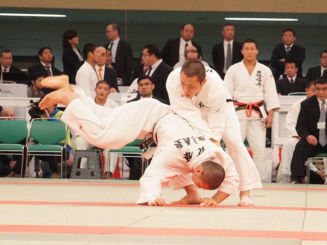 男子73kg級準決勝 渡邊神威vs後藤大介