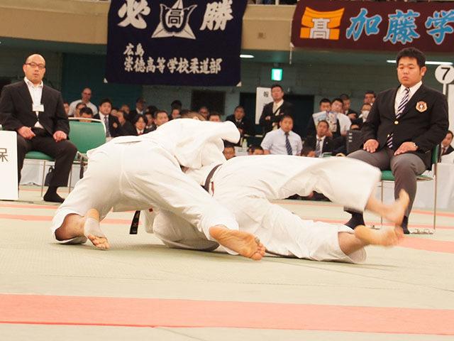 男子73kg級決勝 渡邊神威vs朝比奈龍希�B
