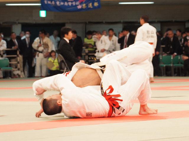 男子81kg級2回戦 杉山海vs浦虎太郎