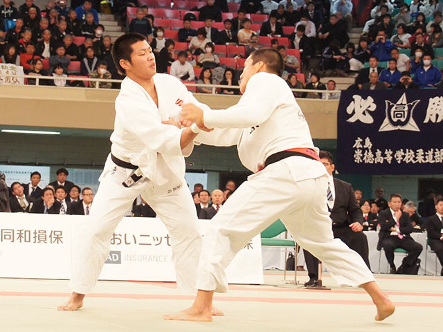 男子81kg級決勝 藤原崇太郎vs笠原大雅�A