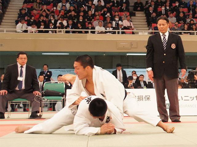 男子81kg級決勝 藤原崇太郎vs笠原大雅�B