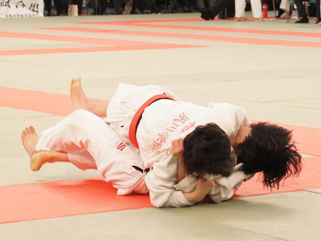 女子48kg級決勝 梅北眞衣vs黒崎美紅�B