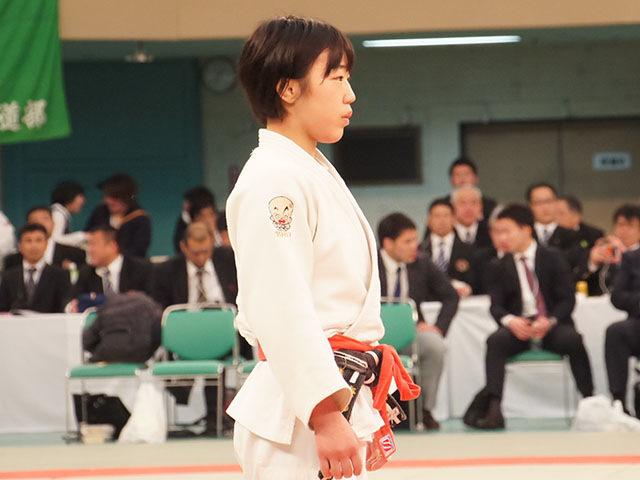 女子48kg級決勝 梅北眞衣vs黒崎美紅�C