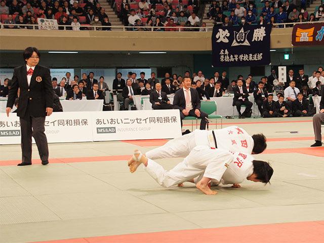 女子52kg級決勝 富沢佳奈vs武田亮子�@