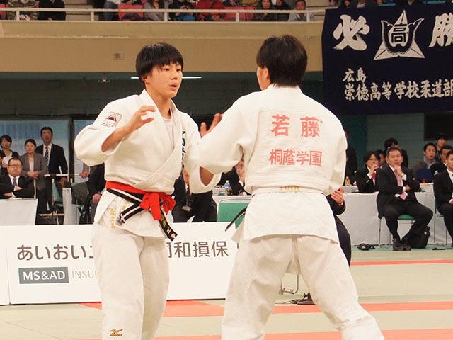 女子57kg級決勝 舟久保遥香vs若藤唯�@