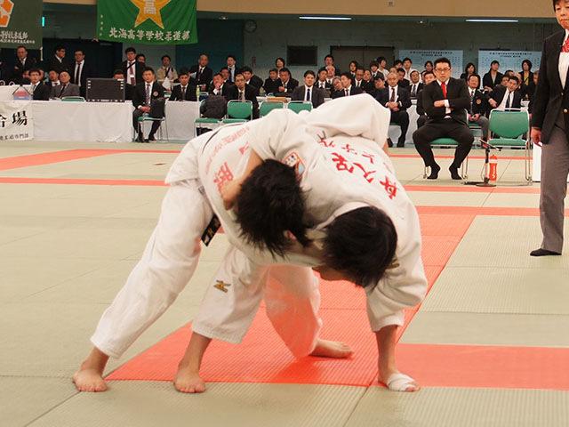 女子57kg級決勝 舟久保遥香vs若藤唯�A