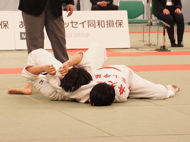 女子57kg級決勝 舟久保遥香vs若藤唯�C