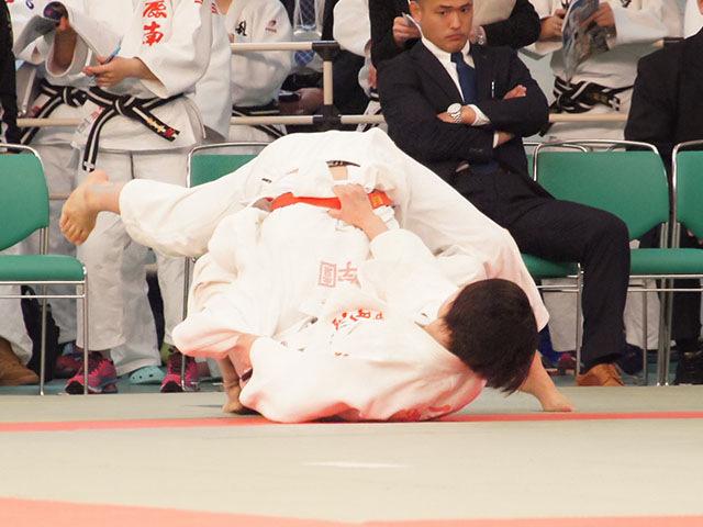 女子63kg級3回戦 三浦裕香理vs瀬戸口栞南
