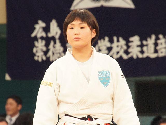 女子63kg級決勝 三浦裕香理vs田中志歩�@