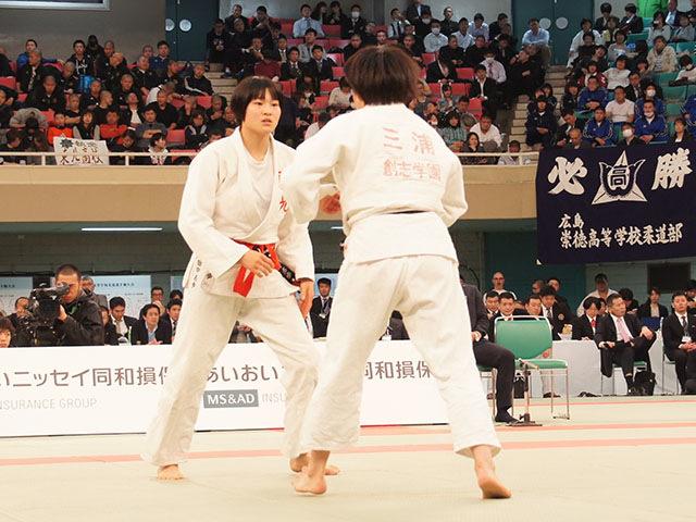 女子63kg級決勝 三浦裕香理vs田中志歩�A