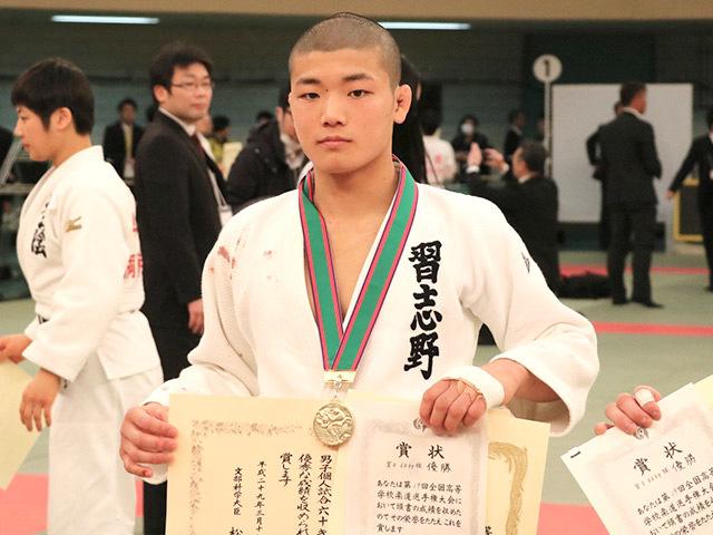 男子60kg級優勝市川龍之介