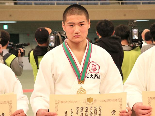 男子81kg級優勝亀谷嗣温