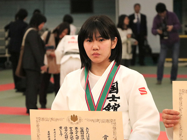 女子48kg級優勝安部風花