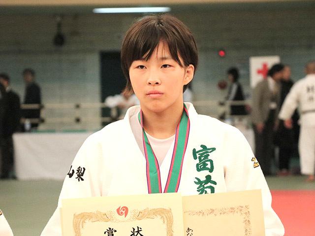 女子63kg級優勝結城彩乃
